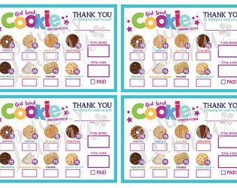 photo about Girl Scout Cookie Order Form Printable identified as LBB Mini Woman Scout Cookie Buy Style (Army) - Printable