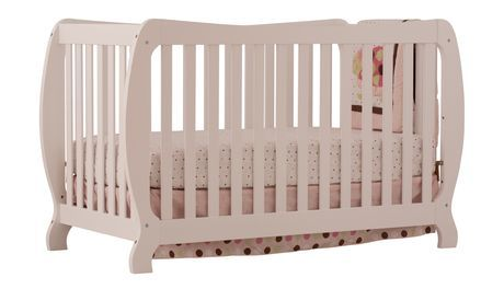 Stork Craft Monza II Fixed Side Convertible Crib - White - $277 @ Walmart