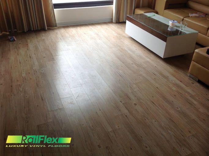sàn nhựa vân gỗ lắp đặt cho phòng ngủ
