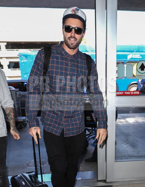Brody Jenner Sighted at LAX Airport in Los Angeles on February 8 2018