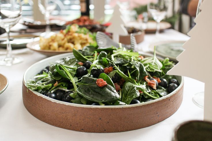 Spinach Salad with Warm Bacon