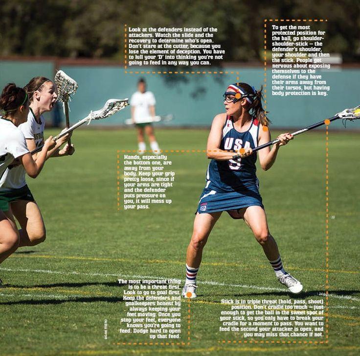 Womens #Lacrosse #passing best practice tips