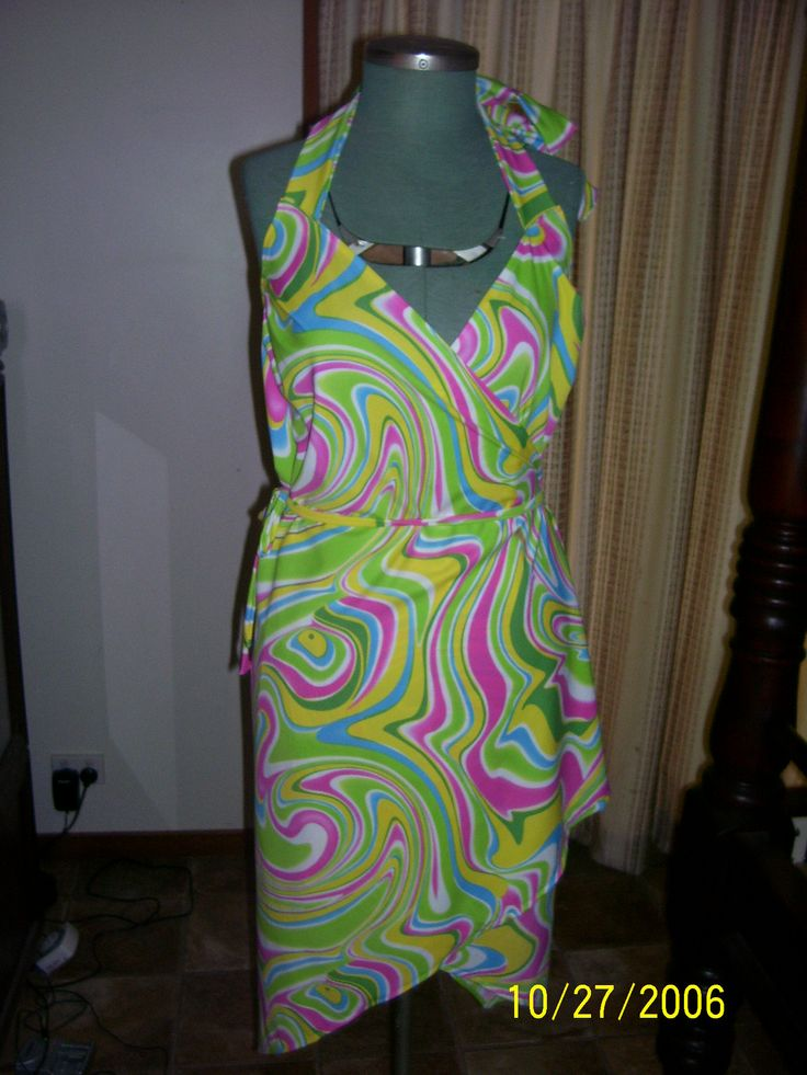 Wrap Dress {Made by Hour Glass Sewing}