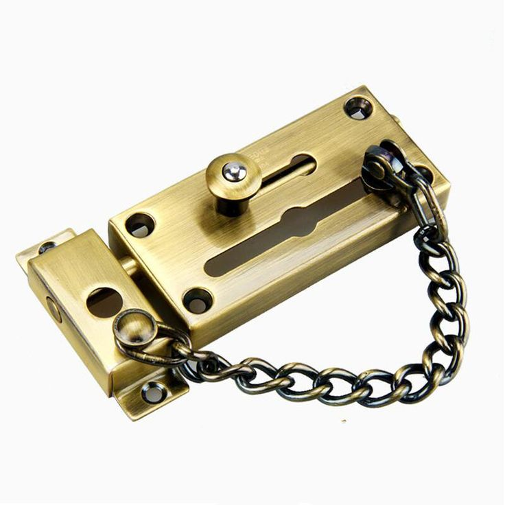 Best 25 Door Chains Ideas On Pinterest Busy Board Chain Locks Alternative