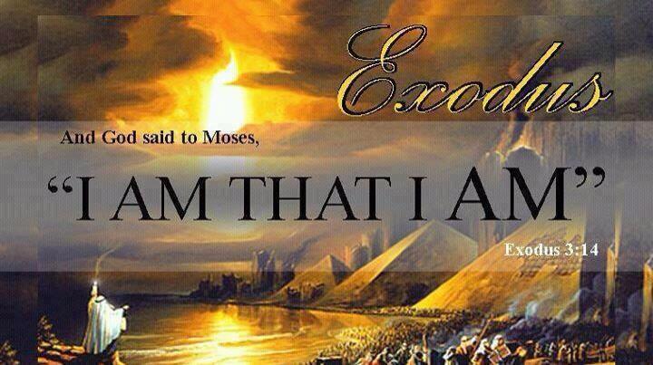 Resultado de imagen para exodus 3:14