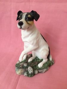 Jack Russel Dog Figurine Ornament By The Leonardo Collection Collectible  | eBay