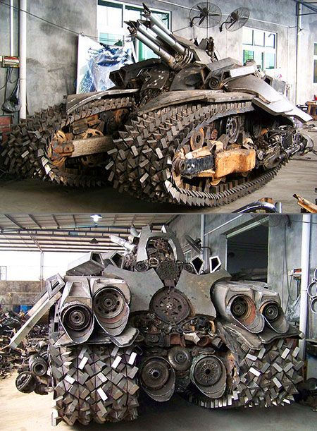 home made tools | Amazing Homemade Tanks That Actually ...