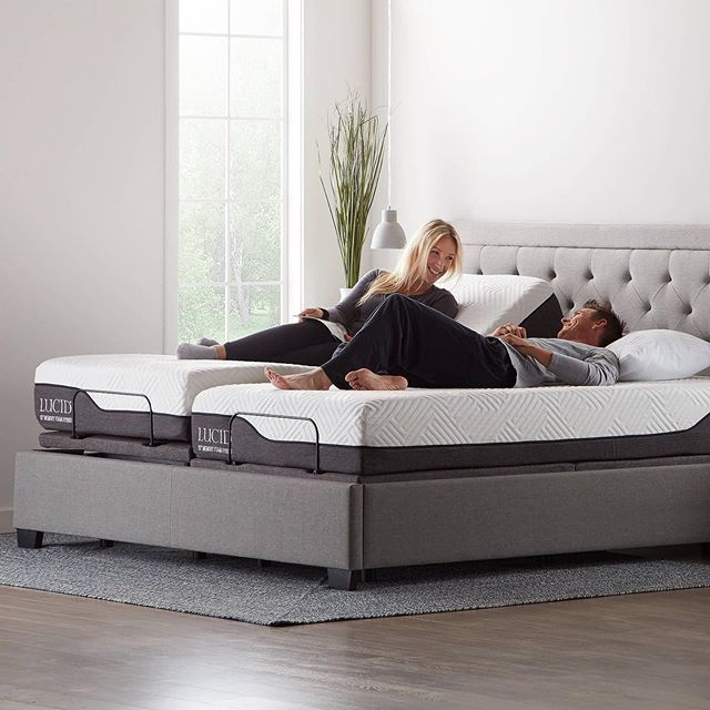 Introducing The New L600 Adjustable Bed Base This Product Features Independent Head And Foot Incline S Adjustable Bed Base Adjustable Beds Bed Base