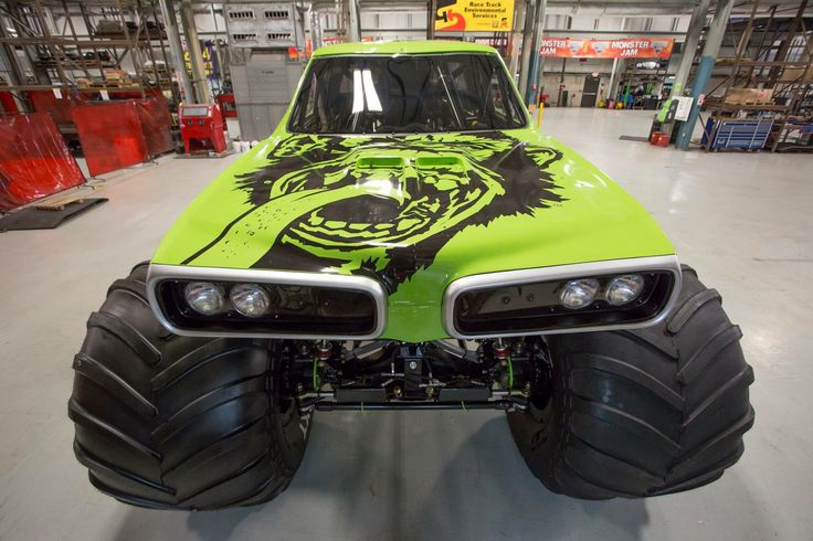 Chevy Truck Parts Online Gas Monkey Garage Monster Truck *COMMANDER CODY* | Race Cars ...