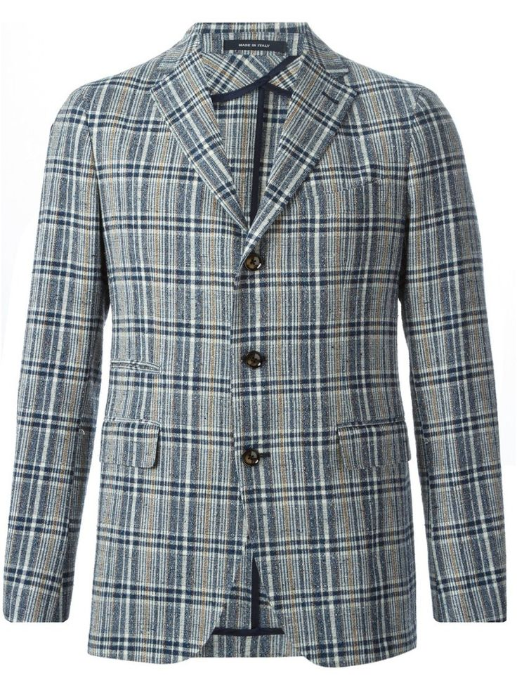 tagliatore 0205 Prince of Wales Blazer  Blue #alducadaosta #business #meeting #businessmeeting #men #apparel #style #fashion #inpiration #inspo #streetstyle #tagliatore