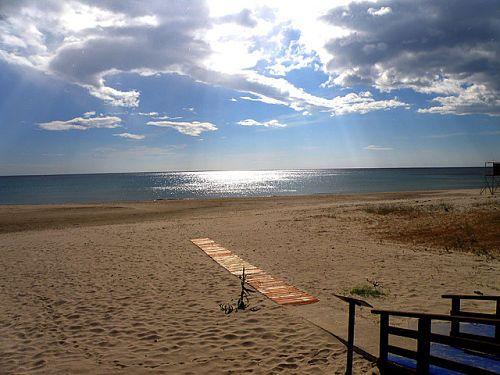 Exploring the Sardinia Beaches near the Villa Melissa - Foxi Manna beach in the Marina of Tertenia.