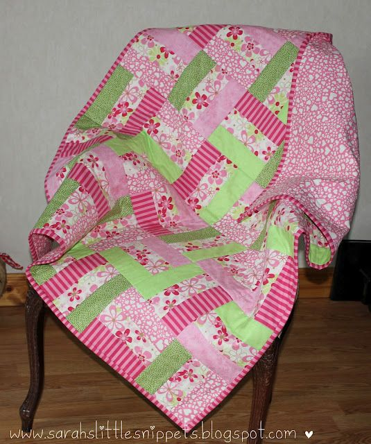 Free Patterns For Baby Patchwork Quilt : 25+ best ideas about Baby Patchwork Quilt on Pinterest Quilt patterns, Quilting and Patchwork ...