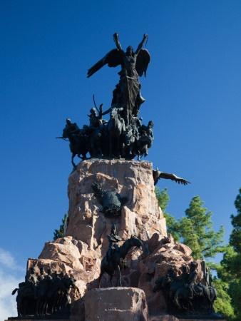Monumento Al Ejercito De Los Andes, General San Martin Park, Mendoza, Argentina