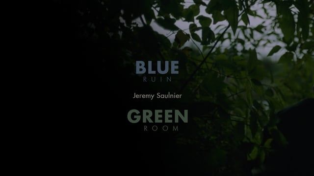 A blend of both of Jeremy Saulniers colour title features. Fantastic director who does not pull punches.