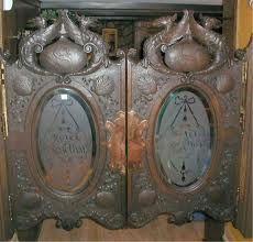 Western oak saloon door