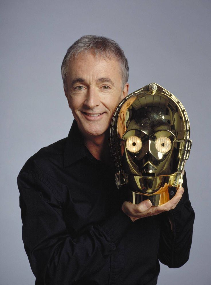 Anthony Daniels & C-3PO  Daniels has played C-3PO in all six of the Star Wars feature films, as both the body and voice of the golden robot