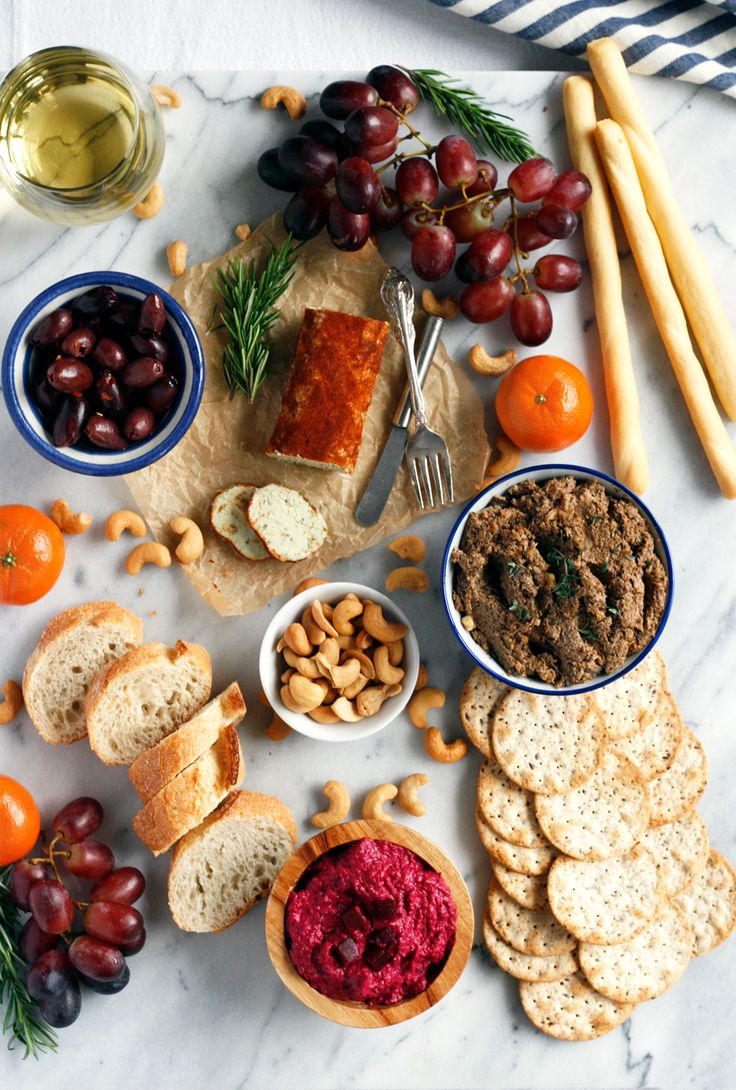 The Ultimate Vegan Charcuterie Board: Complete with Recipes for Smoked Paprika Basil Cashew Cheese, Roasted Beet Hummus and Mushroom Pâté
