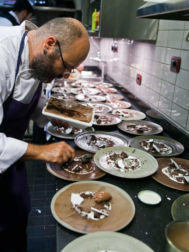 Ristorante Settembrini - Roma - Chef Luigi Nastri -  Piatti: L' arte nel pozzo - settembre 2013