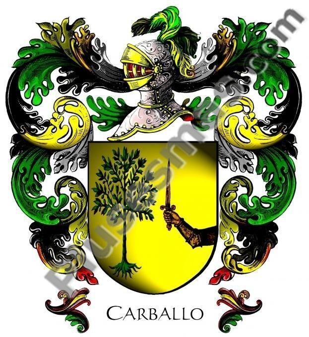 Escudo del apellido Carballo