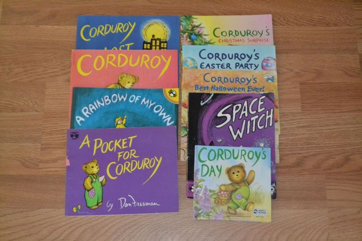 Corduroy Book lot of 9, paperback, Don Freeman, Picture books Children, Teacher