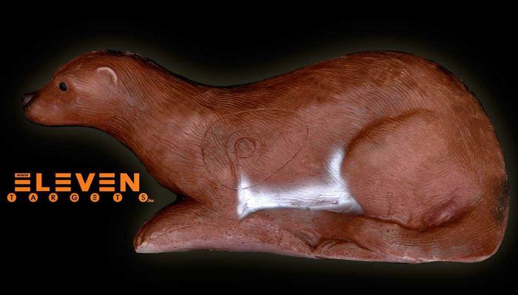 #Eleven 3D Otter. #IFAA category: 4. #Eleven 3D Vidra. #IFAA kategória: 4.  #archery #target  http://eleventargets.hu/index.php?action=showpic&fid=733