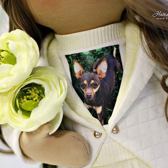 А это заказик для одной милой девочки.....рожденной в апреле и обожающей свою кроху-собачку😃#gayadolls#куклыручнойработы#моялюбовь#handmade#fabricdoll#кукланазаказ#декордома#декор#дизайн#подарокналюбойслучай#подарокручнойработы#interiordoll#пермь#мастеркласс#doll#пермь#мастеркласспермь#пермьактивная#пермькрасивая#мкпермь#оригинальныйподарок#шьюназаказпермь#perm#хоббипермь#мкпермь#девочка#куколка#