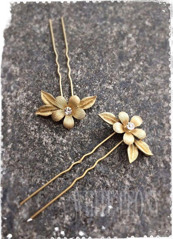 Grecian Collection Gold Flower Leaf Greek Goddess Hair