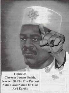 Clarence Jowars Smith, teacher of the Five Percent Nation & Nation of Gods & Earths