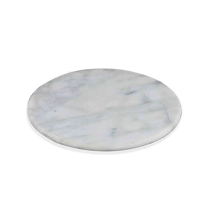 Artisanal Kitchen Supply White Marble Trivet Bed Bath Beyond In 2020 Kitchen Supplies Marble Utensil Holder Bed Bath And Beyond