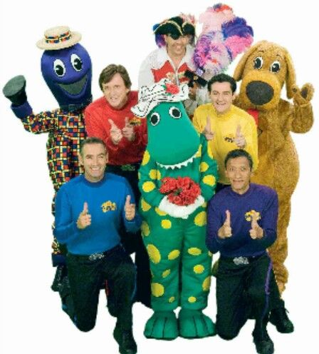 "Childhood Nick Jr. cartoon, ""The Wiggles""."