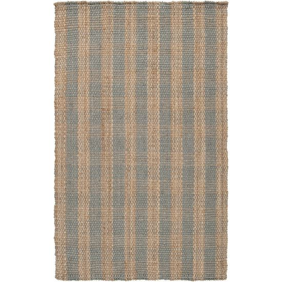 Country Jute Collection Area Rug in Praline, Pussywillow Grey, and Tan design by Country Living