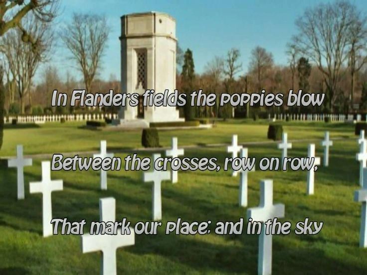 In Flanders Fields - Song and Slideshow