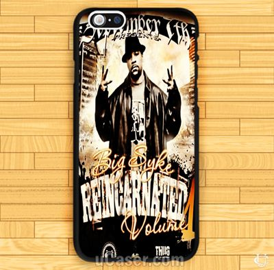 Big Syke Poster Music Rap R&B iPhone Cases cheap and best quality. *100% money back guarantee