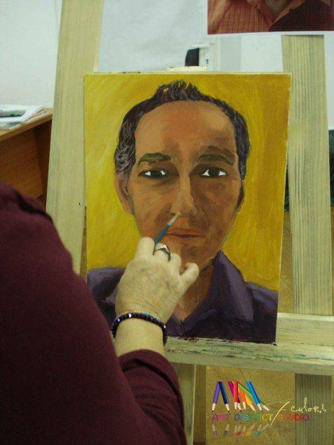 Curs de pictura – portret | Atelier 7culori