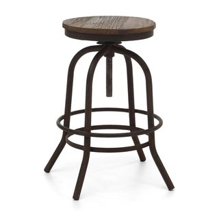 Awesome Distressed Metal Bar Stools