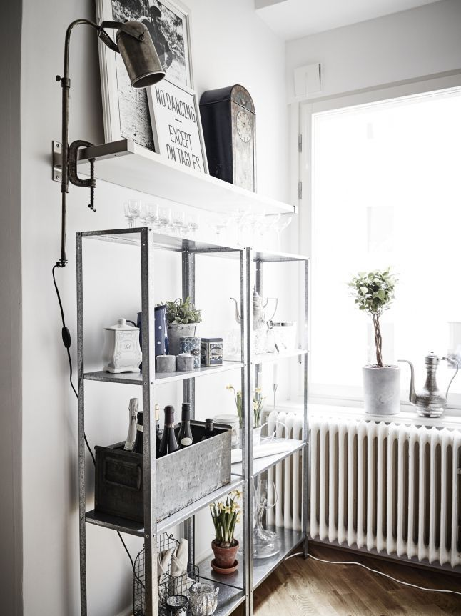 How To Rock Ikea Hyllis Shelves In Your Interior Ideas. Are you looking for unique and beautiful art photo prints (not the ones featured in this pin) to curate your gallery walls? Visit bx3foto.etsy.com and follow us on Instagram @bx3foto