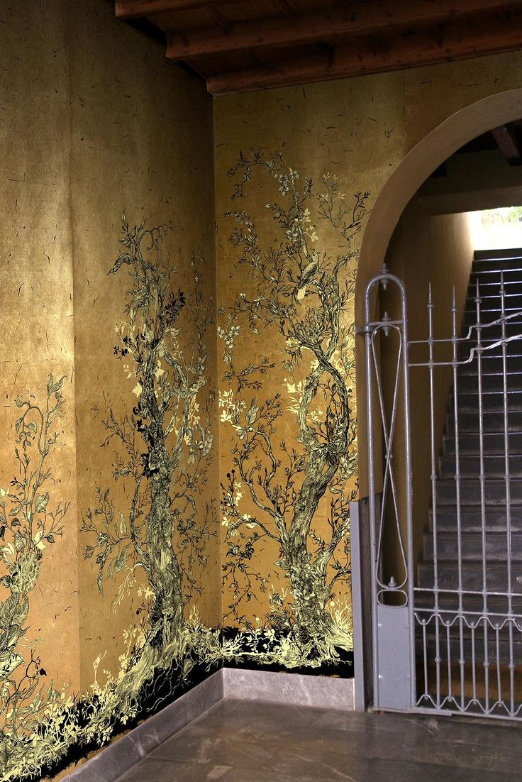276 best wall murals images on pinterest wallpaper ancient art golden oriole wallpaper panels from timorous beasties amipublicfo Choice Image