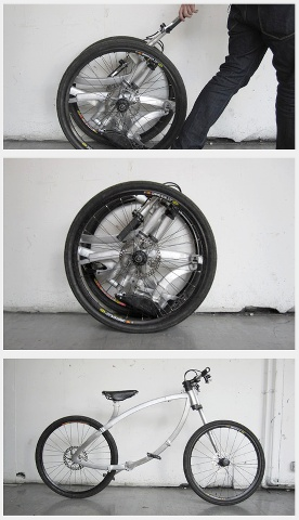 Innovative Folding Bicycle Design.
