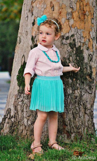 Fashion kids - for more photos with my fashion girl - www.AcaDelia.ro