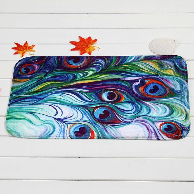 Производители , продающие красочные декоративные прямоугольные ковер вход крытый открытый противоскользящих коврик оптовая продажа купить на AliExpress