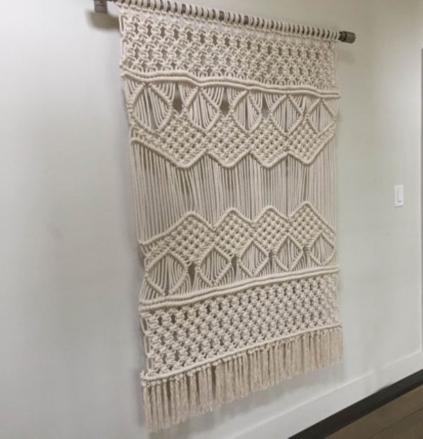 Stylish look & Home Decorative Modern Macrame Wall Hanging Knotted Rope,Wall Art #Handmade