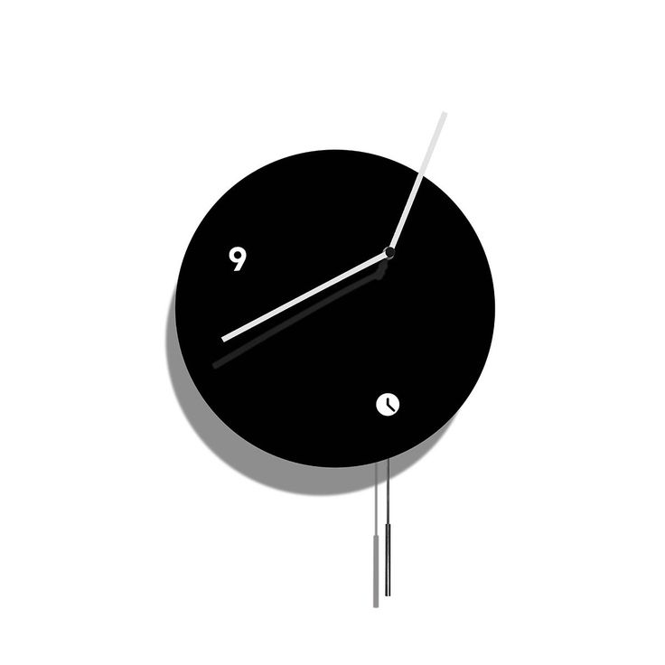 17 Best Ideas About Black Wall Clocks On Pinterest Black