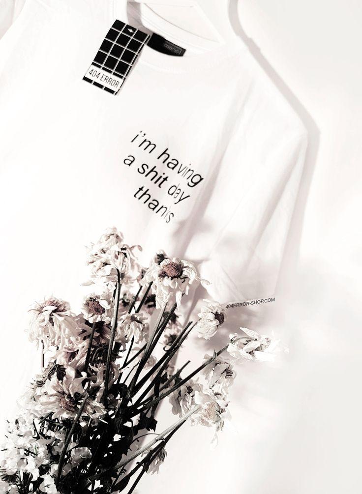 ♥BUY HERE♥  404error-shop.com instagram.com/404errorshop  #shitday #tumblrstyle #tumblrtee #aesthetic #flowers #minimal #tumblrfashion #white #404errorshop #cute #beautiful #90s #vintage #sadgirls #sadboys #whitetshirt #seapunk #streetwear #blackwhite #alternative #witchhouse #vaporwave