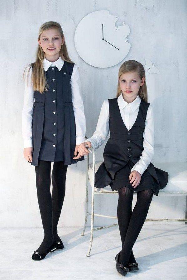 dfd52258ae4 Модная школьная форма 2018-2019  лучшие 100+ фото-идеи школьной формы для