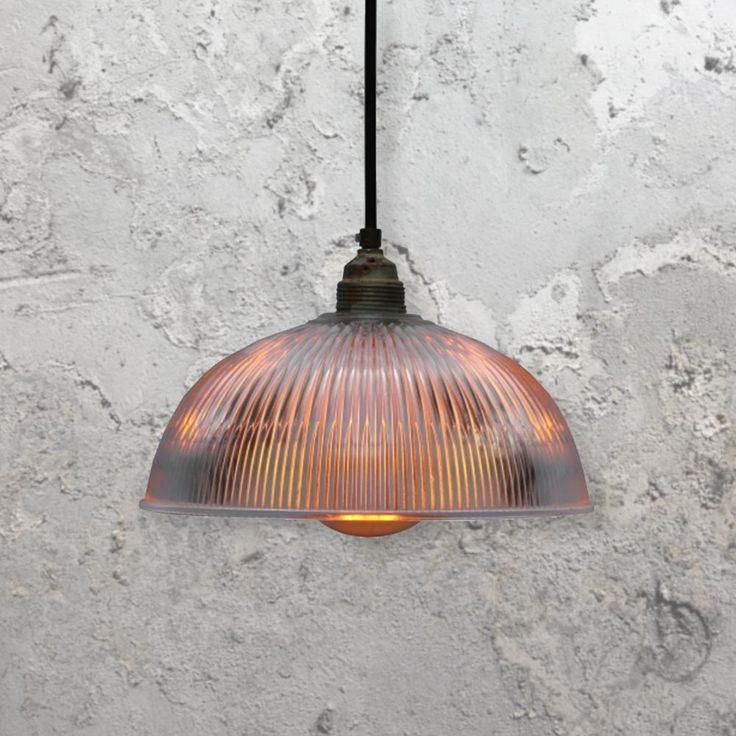 reclaimed lighting. holophane pendant light clb00496 e2 contract lighting suspended vintage glass shade reclaimed w