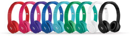 brilliant Beats by Dr. Dre Solo HD On-Ear Headphones - Monochromatic Red