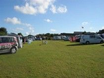Cottage Farm Touring Park, Newquay, Cornwall, Campsite England.