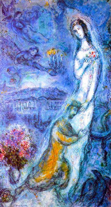 Bethsabée  - 1962-1963- Marc Chagall
