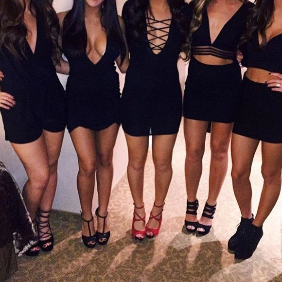ISO one of these outfits not for sale in search of one of these outfits (preferable one of the middle 3) or something similar for my 21st birthday to Atlantic City. please help me find something!!!!  lbd little black dress skirt set romper bodysuit Dresses