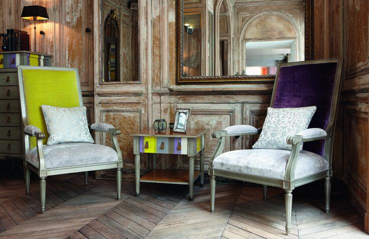 Grange, mobila de arta, mobilier din lemn, show room Lyon - revista Casa Lux